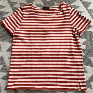 A.P.C Paris Striped Top